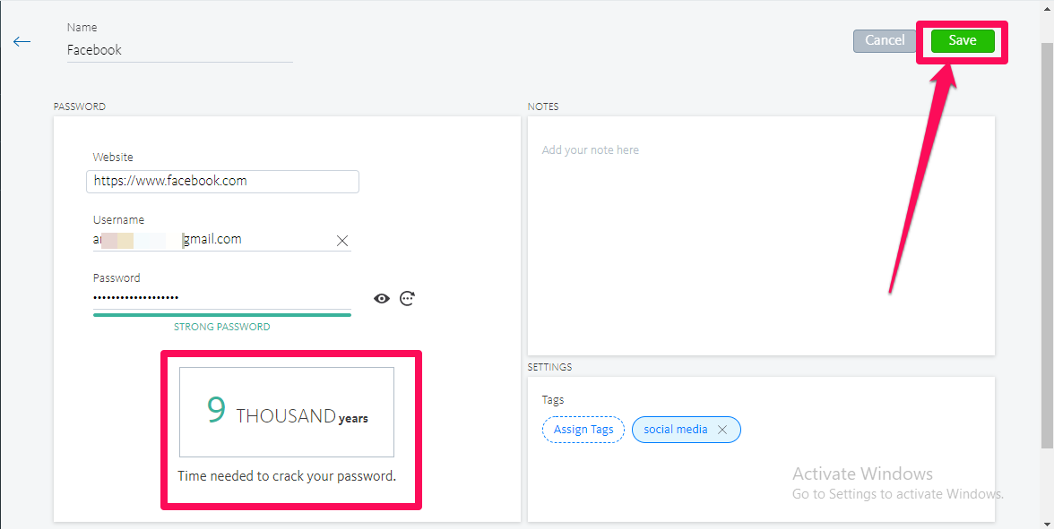 avira password manager save password1