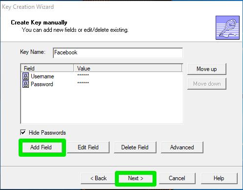 keywallet save password2