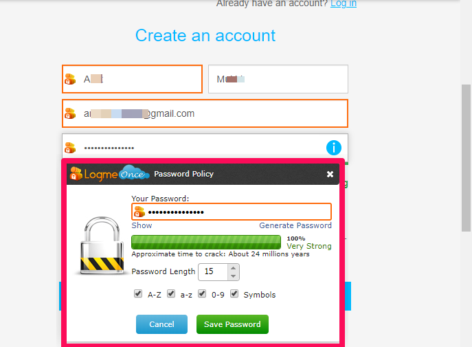 logmeonce password generator2