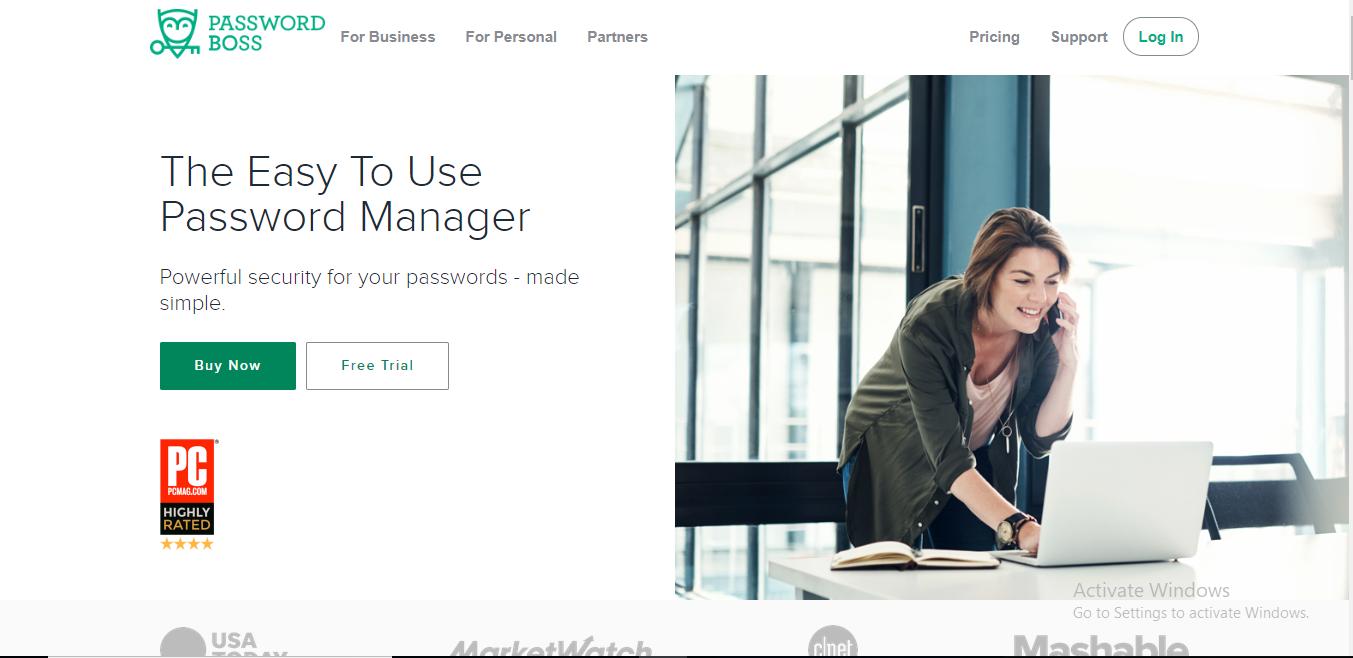 password boss homepage
