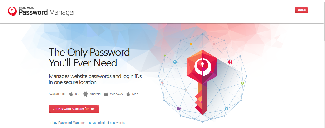 trend micro homepage