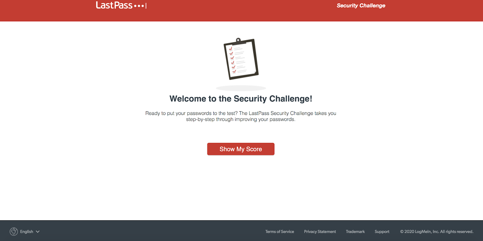 LastPass password manager security challenge